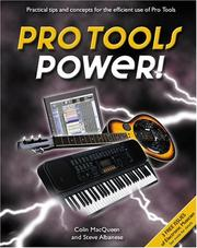 Cover of: Pro Tools Power! | Colin MacQueen