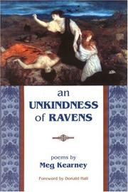Cover of: An Unkindness of Ravens | Meg Kearney