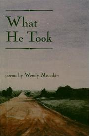 Cover of: What he took