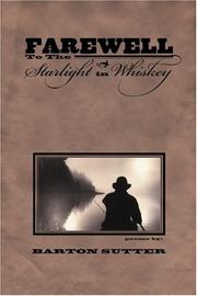 Cover of: Farewell to the starlight in whiskey