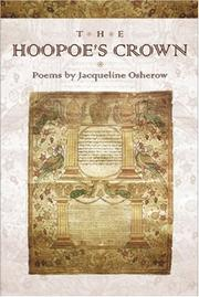 Cover of: The hoopoe's crown