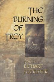 Cover of: Burning of Troy | Richard Foerster