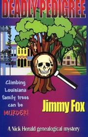 Cover of: Deadly pedigree | Jimmy Fox