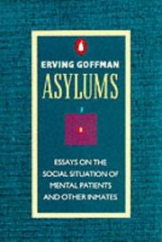 Cover of: Asylums