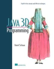 Cover of: Java 3D Programming | Daniel Selman