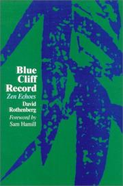 Cover of: Blue Cliff Record