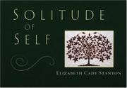 Cover of: Solitude of self