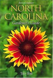 Cover of: North Carolina Gardener's Guide