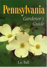 Cover of: Pennsylvania Gardener's Guide