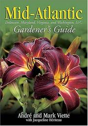 Cover of: Mid-Atlantic Gardener