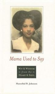 Cover of: Mama used to say