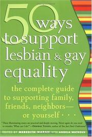 Cover of: 50 Ways to Support Lesbian and Gay Equality