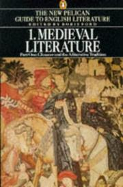 Cover of: Medieval Literature, Chaucer and the Alliterative Tradition