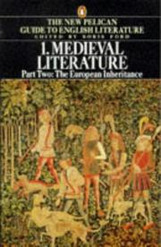 Cover of: Medieval Literature