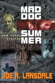 Cover of: Mad Dog Summer: And Other Stories