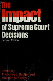 The impact of Supreme Court decisions