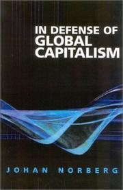 Cover of: In Defense of Global Capitalism