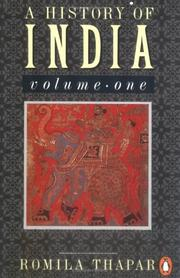 Cover of: A History of India | Romila Thapar