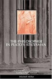 Cover of: The Philosopher in Plato's Statesman