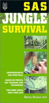 Cover of: Sas Jungle Survival (SAS Survival) | Barry Davies