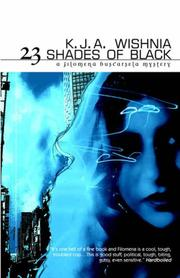 Cover of: 23 shades of black
