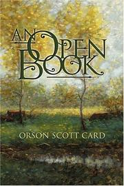 Cover of: An Open Book: Poems