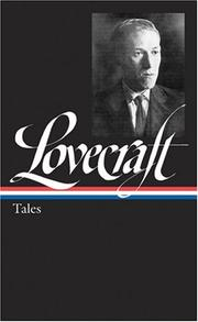 Cover of: H.P. Lovecraft