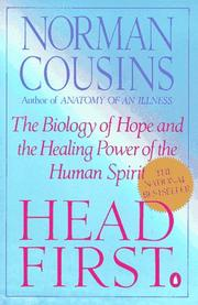 Head first by Norman Cousins