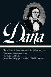Cover of: Two years before the mast and other voyages | Richard Henry Dana