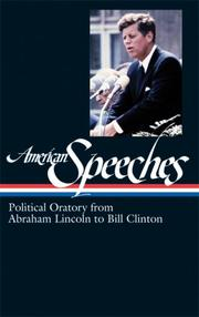 Cover of: American Speeches | Ted Widmer