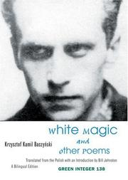 Cover of: White Magic And Other Poems