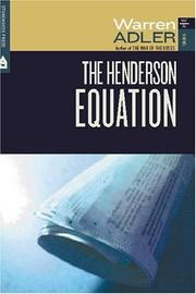 Cover of: The Henderson Equation