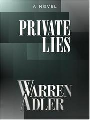 Cover of: Private Lies