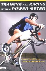 Cover of: Racing and training with a power meter