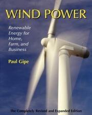 Cover of: Wind Power, Revised Edition | Paul Gipe