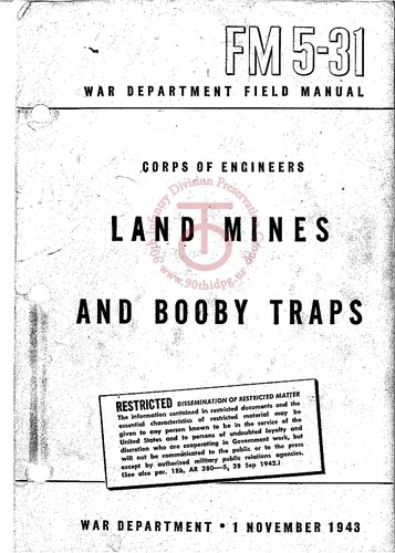 Land Mines and Booby Traps by