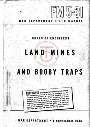 Cover of: Land Mines and Booby Traps |
