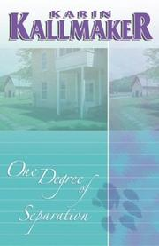 Cover of: One degree of separation