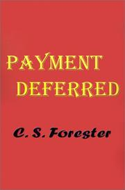 Cover of: Payment deferred