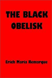 Cover of: Schwarze Obelisk