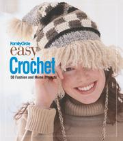 Cover of: Family Circle Easy Crochet | Trisha Malcolm