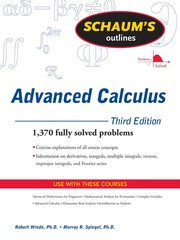Cover of: Schaum's outline of advanced calculus | Robert C. Wrede
