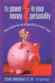 Cover of: The Power in Your Money Personality | Susan Zimmerman