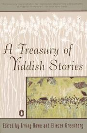 Cover of: A Treasury of Yiddish stories