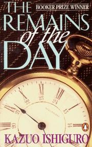 Cover of: The Remains of the Day
