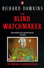 Cover of: The Blind Watchmaker