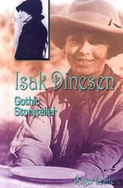 Cover of: Isak Dinesen |