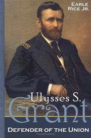 Cover of: Ulysses S. Grant: defender of the Union