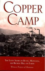 Cover of: Copper Camp | Workers of the Writer