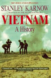 Cover of: Vietnam, a history | Stanley Karnow